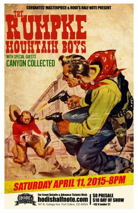 2015-04-11 - Rumpke Mountain Boys & Canyon Collected at Hodi's