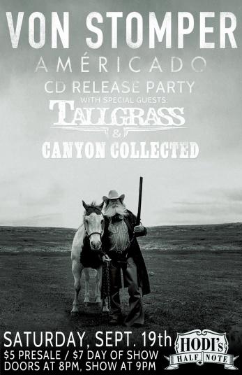 2015-09-19 - Von Stomper, Tallgrass & Canyon Collected at Hodi's
