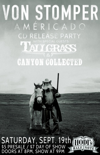 2015-09-19 - Von Stomper, Tallgrass & Canyon Collected at Hodi's